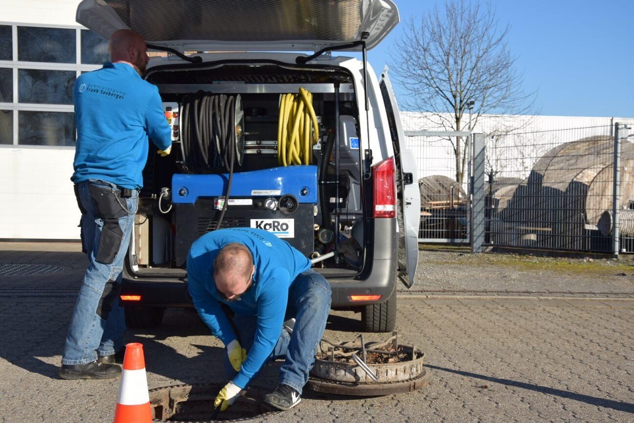 Team Rohrreinigung Seeberger